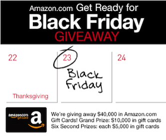 Win a $5,000 or $10,000 Amazon Gift Card (7 Winners!)