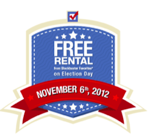 FREE $.99 Rental at Blockbuster (Today Only)