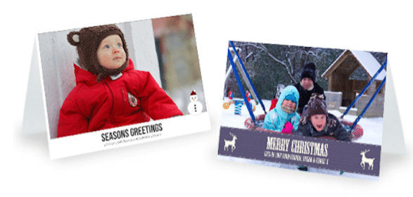 5 Customized Christmas Cards + Shipping to Anywhere in the World