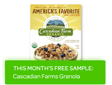 FREE Cascadian Farms Granola (Betty Crocker Members)