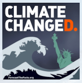 Climate Changed Sticker
