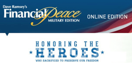 FREE Dave Ramsey Financial Peace University for Military Members (1st 2,000!)