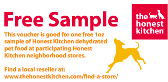 1oz Sample of Deyhdrated Pet Food