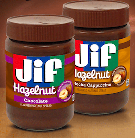 Enter to Win a FREE Jar of Jif Hazelnut Spreads (100 Winners Per Day!)