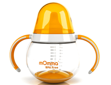 mOmma Straw Cup on February 6