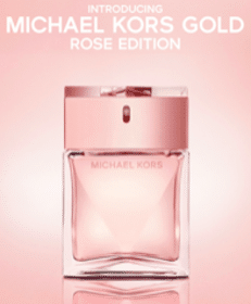FREE Sample of Michael Kors Gold Rose Edition Fragrance (1st 20,000!)