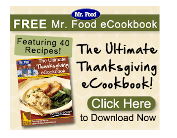 FREE Thanksgiving eCookbook from Mr. Food