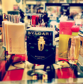 Nordstrom lotion, Bvlgari & Estee Lauder Fragrance Samples at Nordstrom Saturday