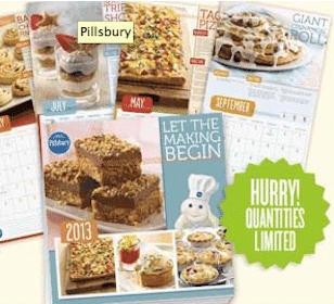 FREE 2013 Pillsbury Wall Calendar