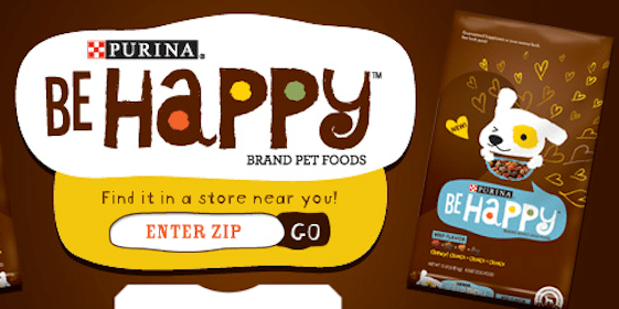 "*HOT* Purina ""Be Happy"" T-Shirt"