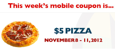 $5 Pizza at Regal Cinemas (Mobile Coupon)