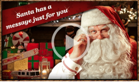 Personalized Video from Santa
