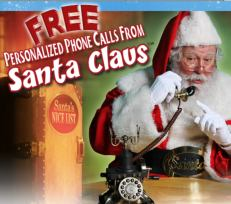 Schedule Your Free Call From Santa!