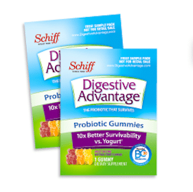 Schiff Digestive Advantage Gummies Sample