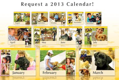 Service Dogs for America 2013 Calendar