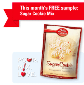 FREE Sugar Cookie Mix (Betty Crocker Members)