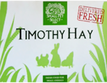 FREE Timothy Hay for Pets Product Sample