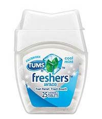 FREE TUMS Freshers Heartburn Relief (Target Sample)