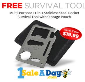 Pocket Survival Tool