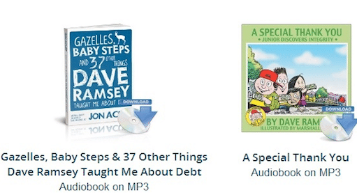 2 Downloadable Audio Books from Dave Ramsey (Through January 31st)