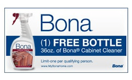 Full-Size Bona Cabinet Cleaner ($8.49 Value!) When You Refer 3 Friends
