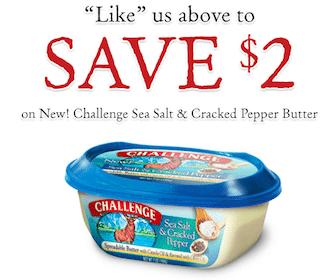 Challenge Sea Salt & Cracked Pepper Butter at Walmart