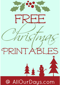 Christmas Early Childhood Printable Pack