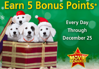 125 Disney Movie Rewards Points in December (Get 10 Rewards Points Today!)