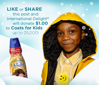 Help International Delights Donate Coats for Kids
