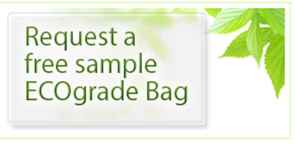 ECOgrade Photodegradable Bag Sample