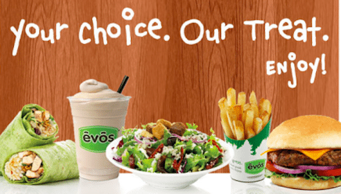 Burger or Wrap at EVOS (Select States)