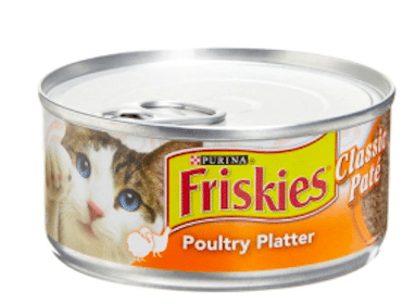 Can of Friskies Cat Food at Petco (Coupon)