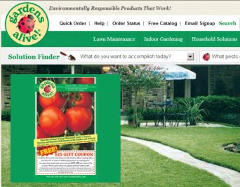 $25 Gardens Alive Coupon
