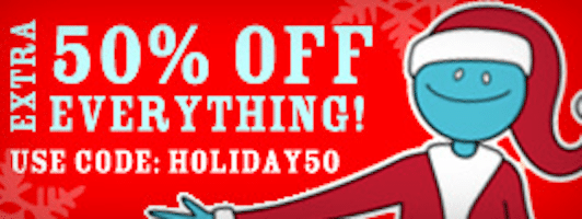 Half off Depot 50% off Coupon Code (Today 12/7 ONLY!)