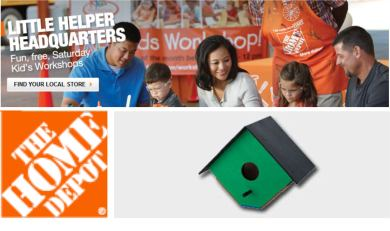 Home Depot Birdhouse Project [in store]