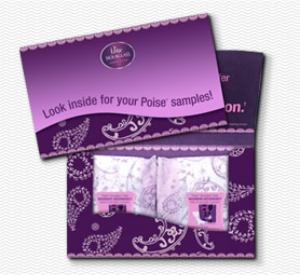 Poise Hourglass Pads Sample