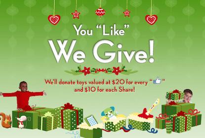 Help LeapFrog Donate Toys