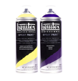 Sample of Liquitex Professional Spray Paint
