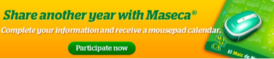 2013 Maseca Mousepad Calendar