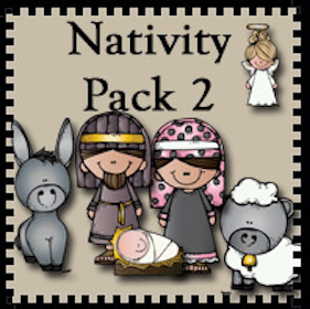 Printable Nativity Preschool Pack