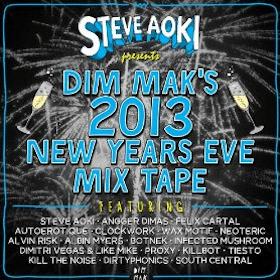 Steve Aoki Presents Dim Mak's 2013 New Year's Eve Mix Tape
