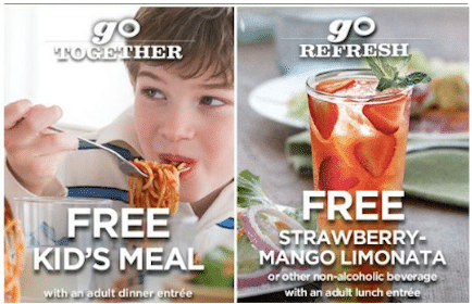 2 New Olive Garden Coupons