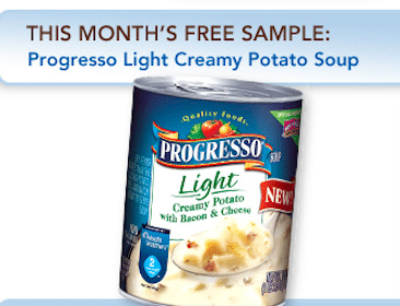 Can Of Progresso Light Soup (Pillsbury Member Only – 1st 10,000!)