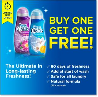 BOGO Free Coupon for Purex Crystals
