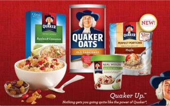 $1 Off Quaker Oatmeal Coupon