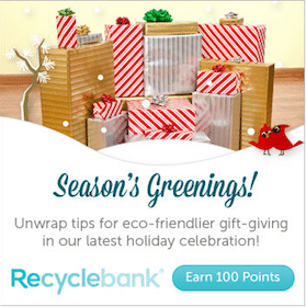 100 New Points Available From Recyclebank