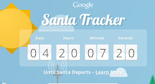 Personalized Santa Phone Call from Google