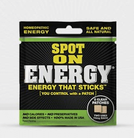 Spot On Energy Patch Sample
