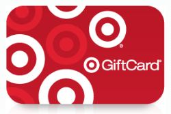 $10 Gift Card from Target (with $50 purchase)