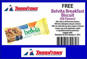 Belvita Breakfast Biscuit at Thorntons [FACEBOOK]
